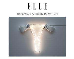 Zoe Buckman makes Elle's 10 Female Artists to Watch list