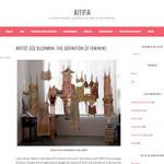 ATFA covers Every Curve Feminist Art by Zoe Buckman
