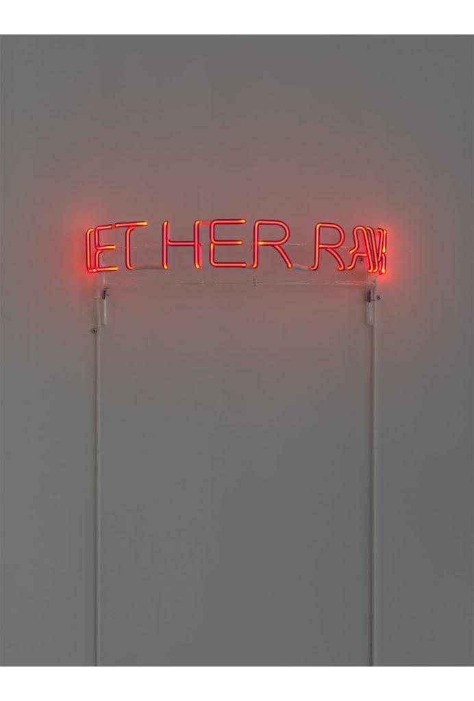 Zoe Buckman Let Her Rave Feminist Neon
