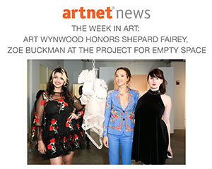 Artnet News features Zoe Buckman's exhibition at Project For Empty Space