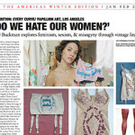 Blouin Artinfo interviews Zoe Buckman about art series Every Curve