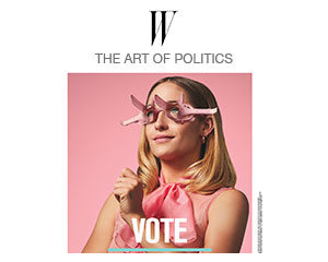 For Freedoms campaign ad in W Magazine of Jemima Kirke