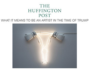 Huffington Post spotlights Zoe Buckman as an artist in the time of Trump