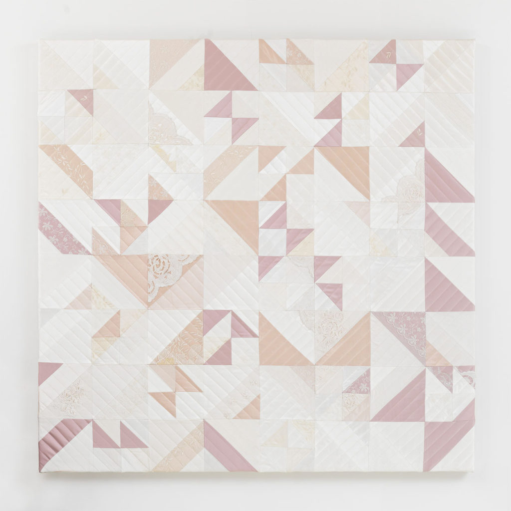 Zoe Buckman Wedding Dress Quilt