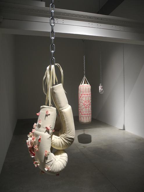 Zoe Buckman Heavy Rag Feminist Art Installation