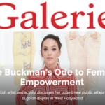 Zoe Buckman Galerie Magazine