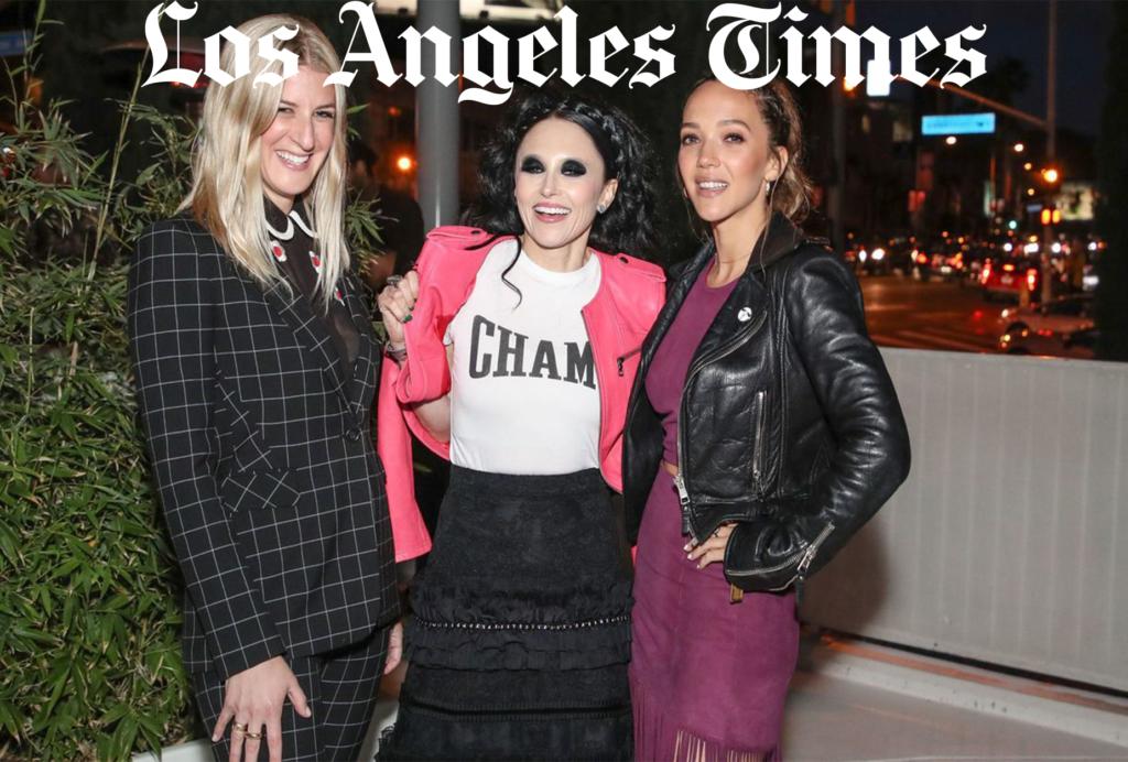 Zoe Buckman Champ LA Times Los Angeles Hollywood