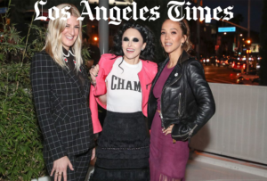 Zoe Buckman Champ LA Times Los Angeles Hollywood