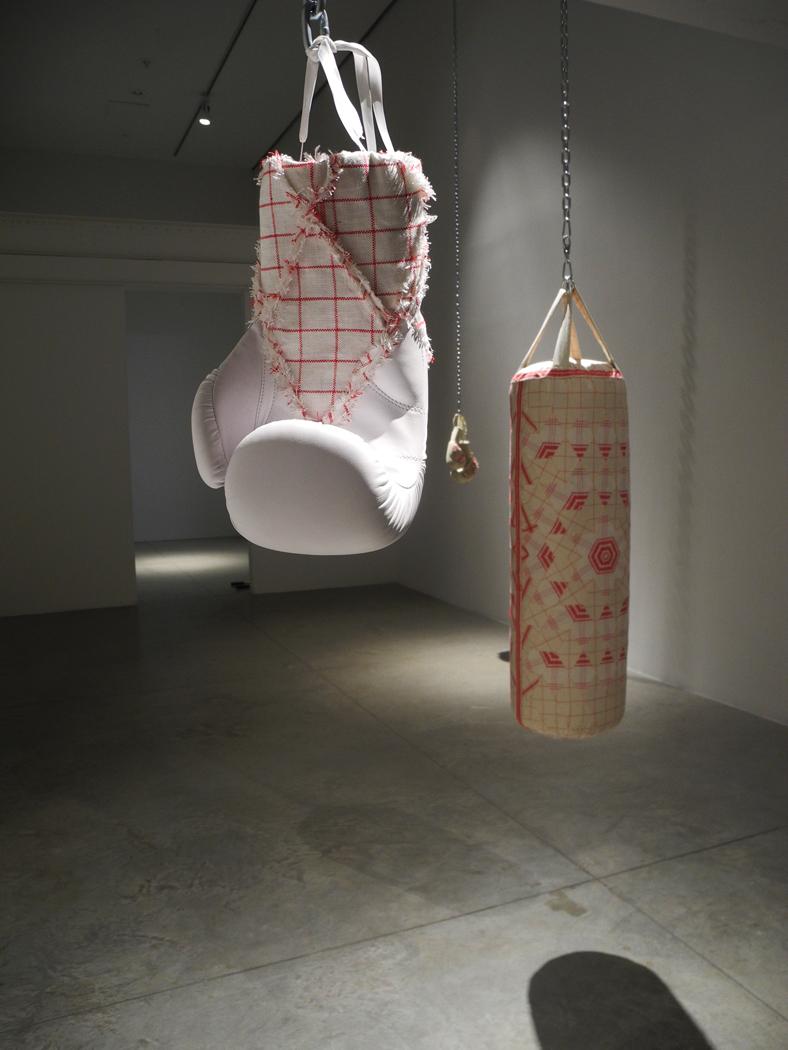 Zoe Buckman Heavy Rag Feminist Art Punching Bag