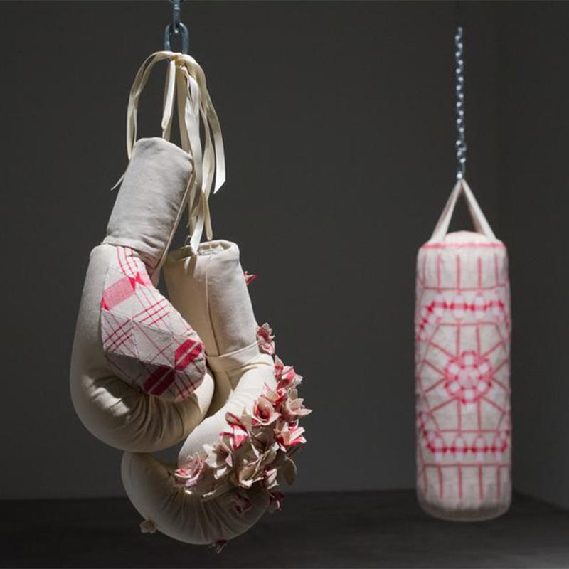 Zoe Buckman Tea Towel Feminist Art